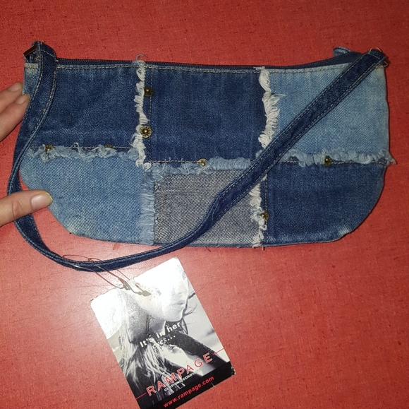 Rampage Handbags - Denim Rampage purse